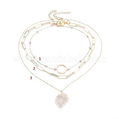 Conjuntos collares pendientesNJEW-JN02757-1