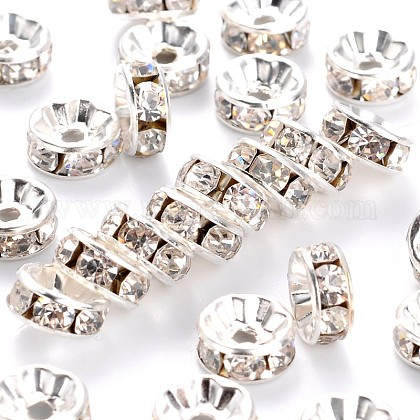 Rhinestone Spacer Beads RB-8D-S-1-1
