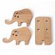 Soporte de madera para teléfonoAJEW-WH0113-03-2