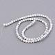 Chapelets de perle en howlite synthétiquesG-Q462-6mm-26-1-2