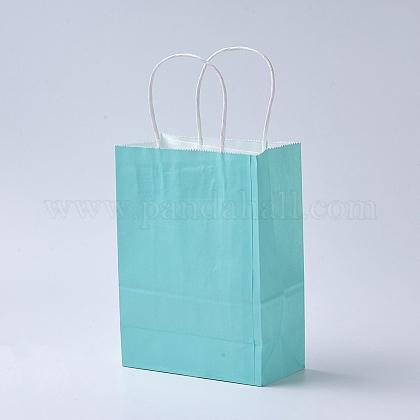 Sacs en papier kraft de couleur pureAJEW-G020-A-14-1