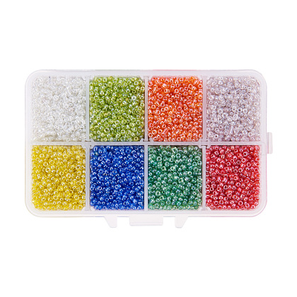 Mixed 12/0 Round Glass Seed BeadsSEED-PH0006-2mm-05-1