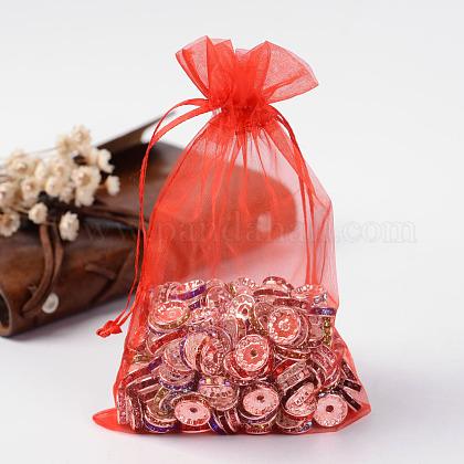 Organza Gift Bags with DrawstringOP-R016-10x15cm-01-1