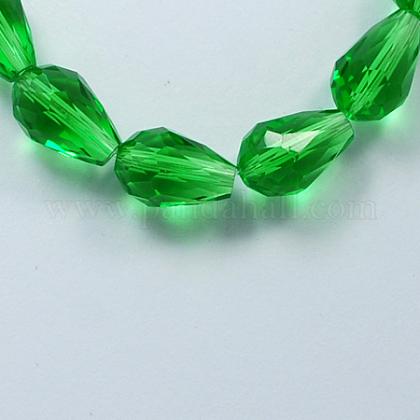 Glass Beads StrandsGLAA-R024-11x8mm-6-1