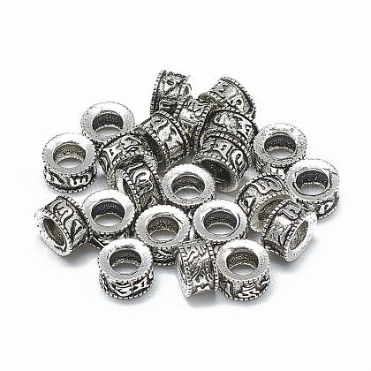 Tailandés 925 cuentas de plata esterlinaSTER-T002-19AS-1