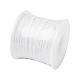 Banda elástica redonda de poliéster & spandex para la oreja cubierta de la bocaOCOR-TA0001-08-50m-16