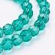 Environmental Glass Round Beads StrandsEGLA-J042-6mm-M02-3