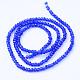 Transparent Glass Beads StrandsX-GLAA-R135-3mm-41-2