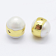 Perlas naturales abalorios de agua dulce cultivadasPEAR-F006-56G-2