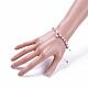 Nylon ajustable pulseras de abalorios trenzado del cordónBJEW-JB05100-6