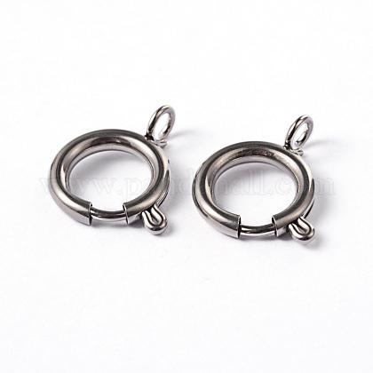 304 пружинное кольцо с гладкой поверхностью из нержавеющей сталиSTAS-D149-06-1