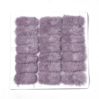 Faux Mink Fur Rectangle DecorationFIND-S320-01A-03-1