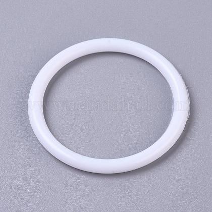 Hoops Macrame RinDIY-WH0157-47A-1