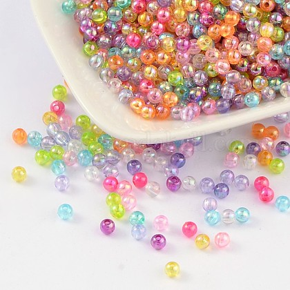 Environmental Transparent Acrylic Beads PL731M-1