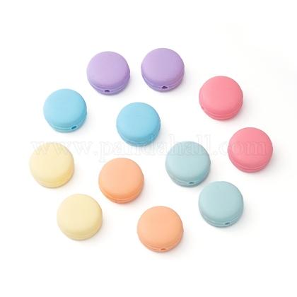 Abalorios de silicona ambiental de grado alimenticioX-SIL-N002-02-M-1