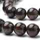 Natural Bronzite Beads Strands G-S272-01-10mm-3