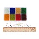 Mixed 12/0 Round Glass Seed BeadsSEED-PH0006-2mm-02-5