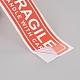 Pegatinas frágiles manejar con cuidado embalaje etiqueta de envío de advertenciaDIY-E023-04-4