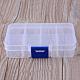 8 compartimentos contenedores de almacenamiento de grano plásticoX-CON-R007-01-3