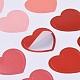 Etiquetas engomadas decorativas del patrón del corazónDIY-L037-I01-5