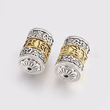 Abalorios de aleación de estilo tibetanoTIBEB-L002-01-1