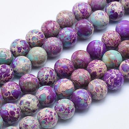 Natural Imperial Jasper Beads StrandsG-I122-4mm-15-1
