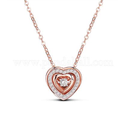 SHEGRACE® Beautiful 925 Sterling Silver NecklaceJN436A-1