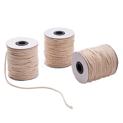 Round Cotton Twist Threads CordsOCOR-L006-D-15-1