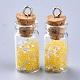Decoraciones pendientes de cristal de la botella que deseaX-GLAA-S181-07-2