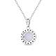 SHEGRACE® 925 Sterling Silver Pendant NecklaceJN614B-2