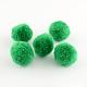 Round Wool Pom Pom Ball BeadsX-AJEW-S006-1mm-13-1