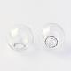 Round Mechanized Blown Glass Globe BeadsX-BLOW-R001-14mm-2