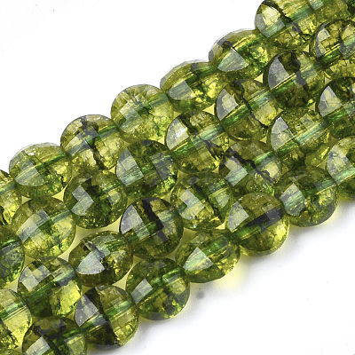 for Jewelry Craft Making GH1R-13 1 Strand Top Quality Natural ite Green Quartz Gemstone 4mm Faceted Rondelle Spacer Loose Stone Beads ~ 113-120pcs