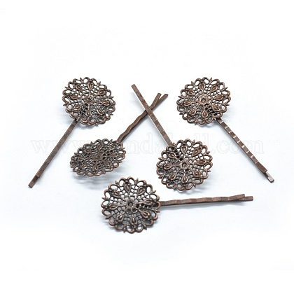 Iron Hair Bobby Pin Finding IFIN-L032-08R-NF-1