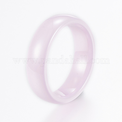 Handmade Porcelain Wide Band Rings RJEW-H121-21B-17mm-1