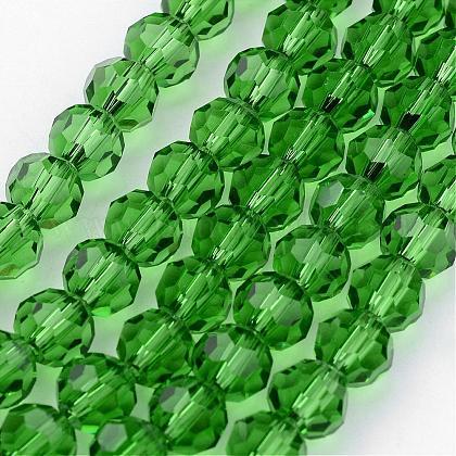 Transparent Glass Bead StrandsGLAA-G013-10mm-54-1
