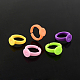 Adjustable Colorful Acrylic Ring ComponentsX-SACR-R740-M-1