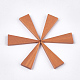 Painted Wood PendantsX-WOOD-T021-12I-1