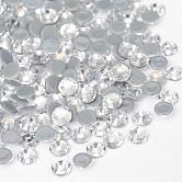 Vidrio de hotfix Diamante de imitación, aa grado, la espalda plana y facetas, semicírculo, cristal, ss30, 6.3~6.5 mm; aproximamente 288 unidades / bolsa