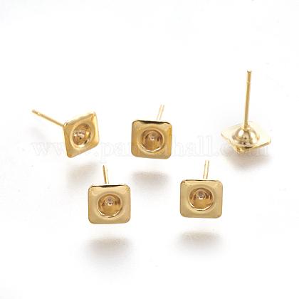304 Stainless Steel Ear Stud ComponentsSTAS-G187-13G-1