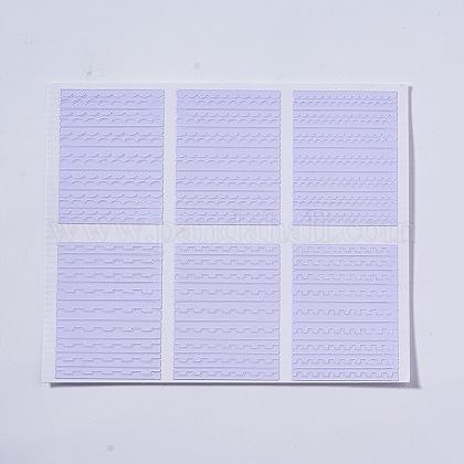 Selbstklebender NagelkunstaufkleberAJEW-TA0003-U09-1