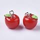 リンゴ樹脂チャームX-RESI-R184-04A-2