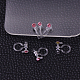 Plastic Clip-on Earring FindingsX-KY-P007-M11-1