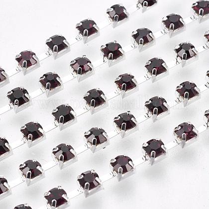 Cadenas de strass Diamante de imitación de bronceCHC-S12-16S-1