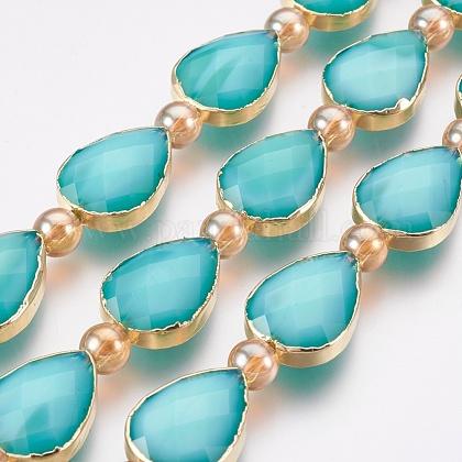 Opaque Glass Beads StrandsEGLA-I008-06G-1