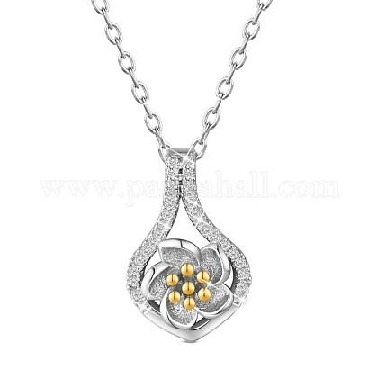 SHEGRACE® 925 Sterling Silver Pendant NecklacesJN661A-1