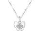 SHEGRACE® 925 Sterling Silver Pendant NecklaceJN606A-1