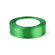 1 inches(25mm) Green Satin Ribbon for Hairbow DIY Party DecorationX-RC25mmY019-2