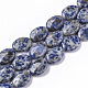 Natural Blue Spot Jasper Beads StrandsX-G-S359-002-1