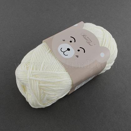 Suaves hilos de algodón del bebé de la alta calidadYCOR-R008-001-1